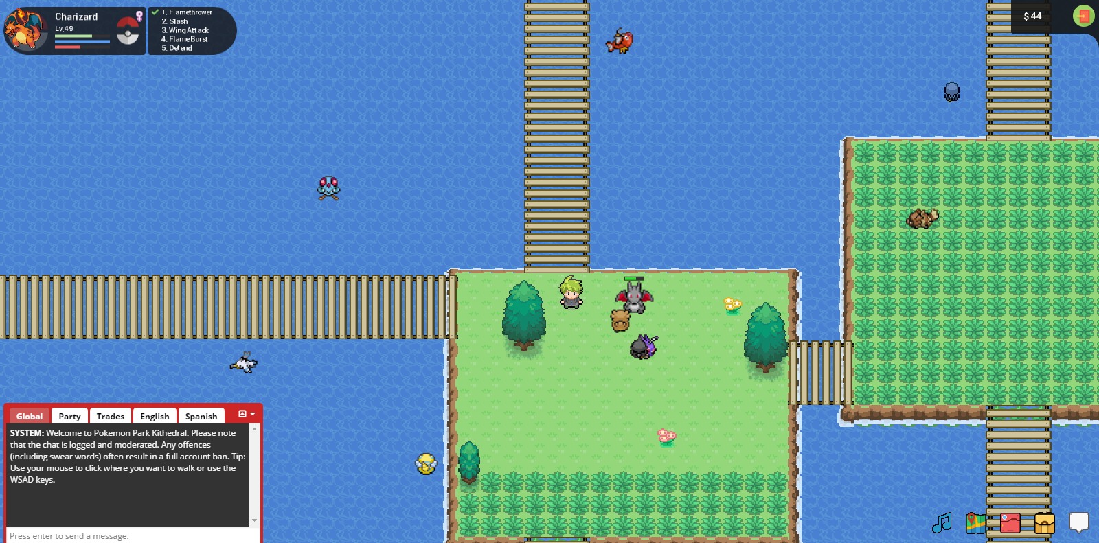 Pokemon Rise - Water Route