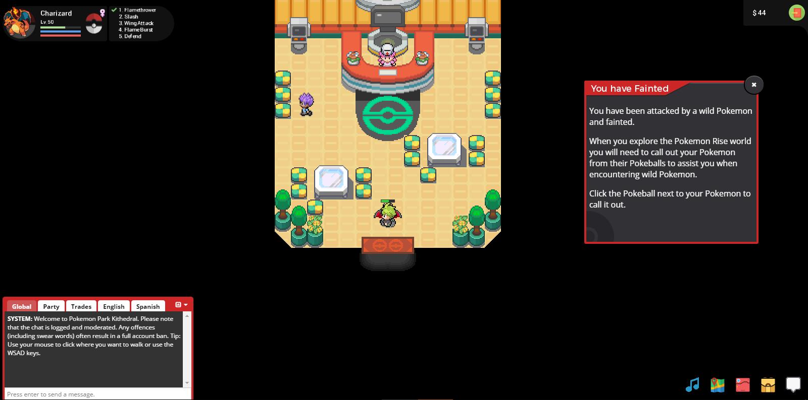 Pokemon Rise - Pokemon Center