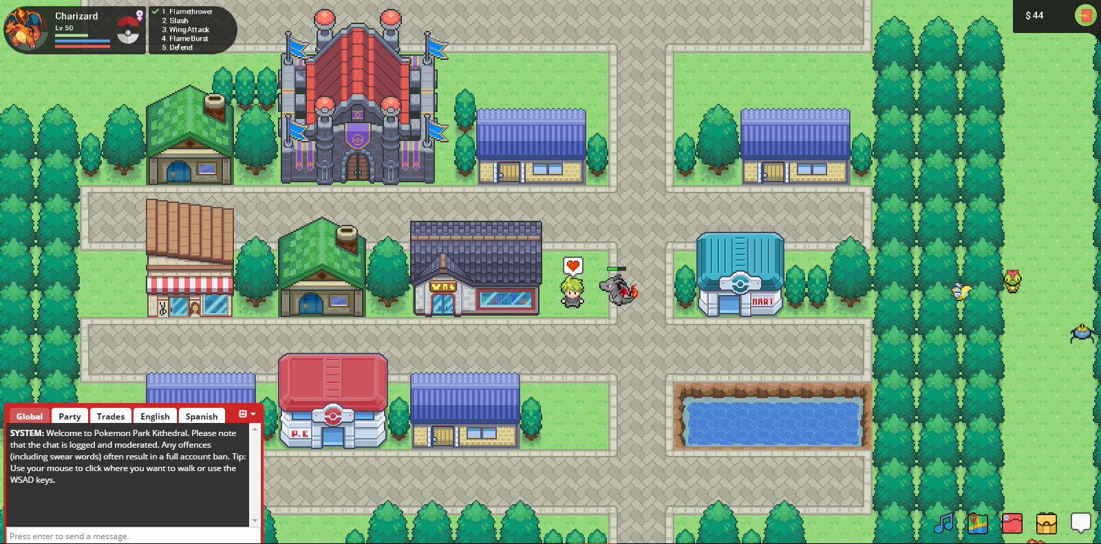 Pokemon Rise - Randomly Generated Town